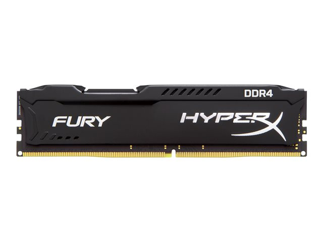 KINGSTON HX421C14FB/4 4GB 2133MHz DDR4 Non-ECC CL14 DIMM HyperX FURY Black