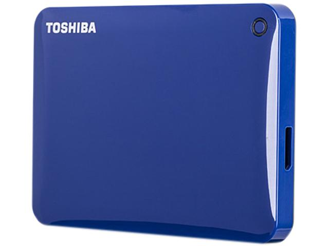Toshiba Canvio Connect II V8 1TB blue USB 3.0