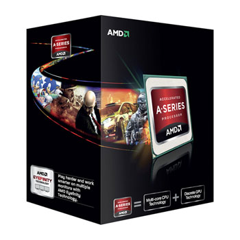AMD A6-7400K 3.5GHz 1MB FM2+ 65w Black Edition
