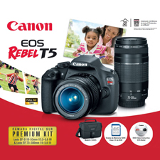 CANON EOS REBEL T5 PREMIUM KIT