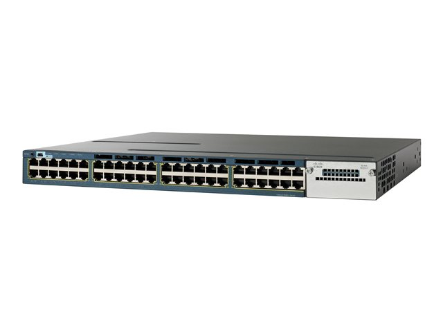 CISCO WS-C3560X-48P-S 48 x 10/100/1000 - rack-mountable - PoE