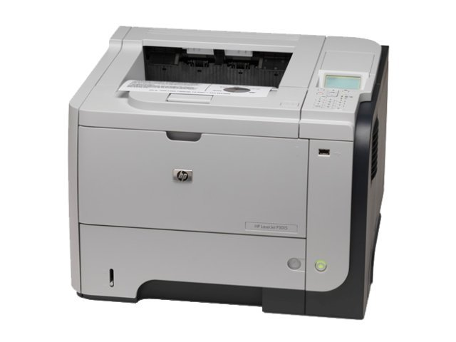 HP Laserjet P3015dn 42ppm duplex y red