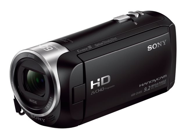 "Sony Handycam CX405 Full HD/9.2mp/30x/2.7""/Cable USB incorp."