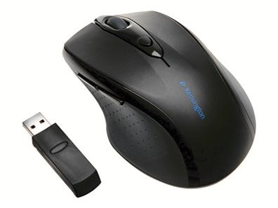 Kensington K72343 MOUSE PRO FIT C/CABLE USB/PS2 NEGRO