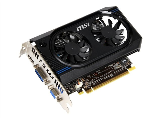MSI GeForce GT 640 2GB DDR3 128Bit 900Mhz HDMI/D-SUB/DVI N6