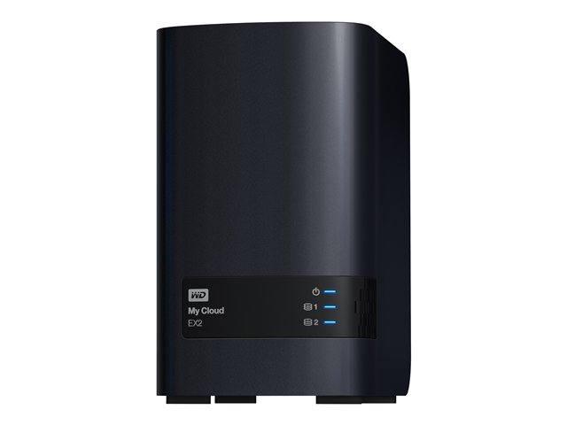 WD Servidor NAS My Cloud EX2 4TB 2-Bay