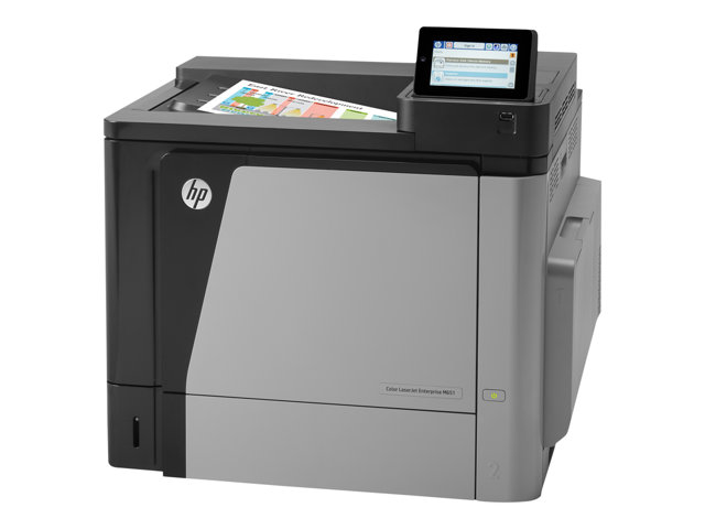 HP LaserJet Color Enterprise M651dn Printer 45ppm