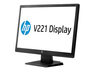 "HP Monitor LED 21.5"" V221 Black"