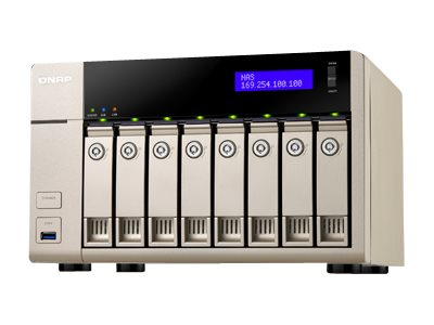 QNAP 8-Bay AMD x86-based NAS Quad Core 2.4GHz 8GB RAM