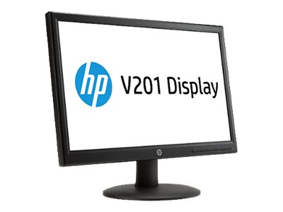 HP V201 19.45-In LED Monitor Wide - VGA(1) (P/N E6W38AA)