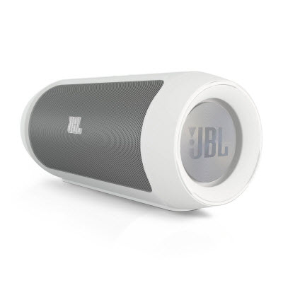 JBL - Charge Portable Indoor/Outdoor Bluetooth Speaker - White