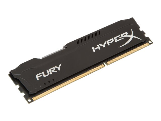KINGSTON HX318C10FB/8 8GB 1866MHz DDR3 Non-ECC CL10 DIMM HyperX Fury Black