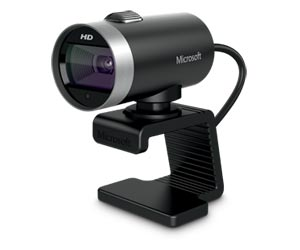 MICROSOFT LIFECAM CINEMA 5MP C/MICROFONO GRIS