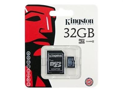 Kingston 32GB MicroSD SDC4/32GB