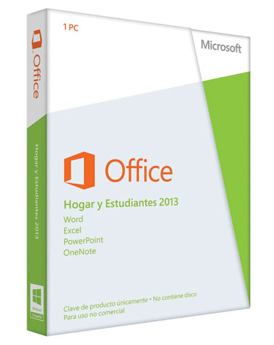 Microsoft Office 2013 Home & Student Full DVD.