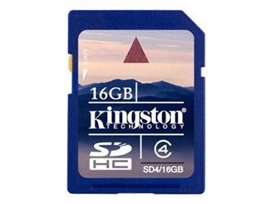 Kingston 16GB SD SD4/16GB