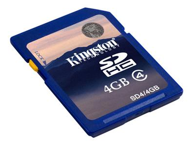 Kingston 4GB SD SD4/4GB